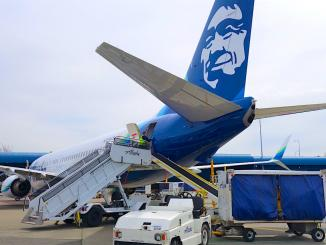Alaska Airlines Tail