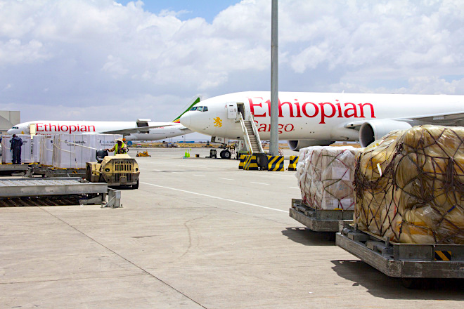 Ethiopian brings mobile convenience to cargo customers