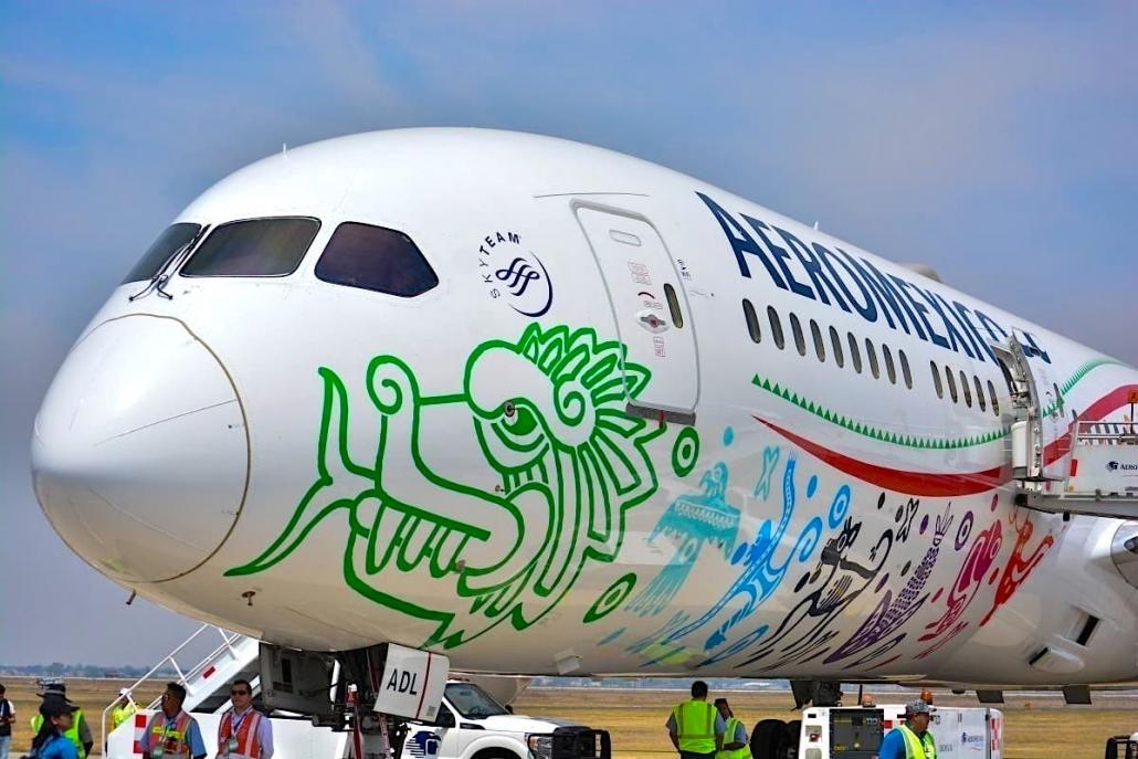 Aeroméxico continues tapping B787s for key Covid cargo