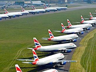 BA parked