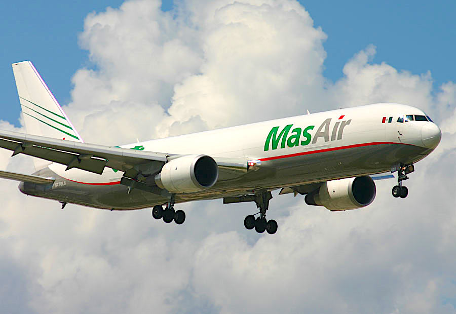 ATSG delivers B767 dry lease freighter to MasAir