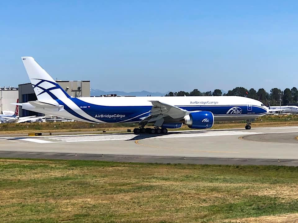 Volga-Dnepr caps turbulent period with first B777F delivery