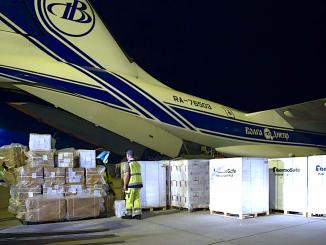 Volga-Dnepr and Scan Global Logistics