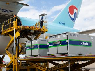 korean air cool chain