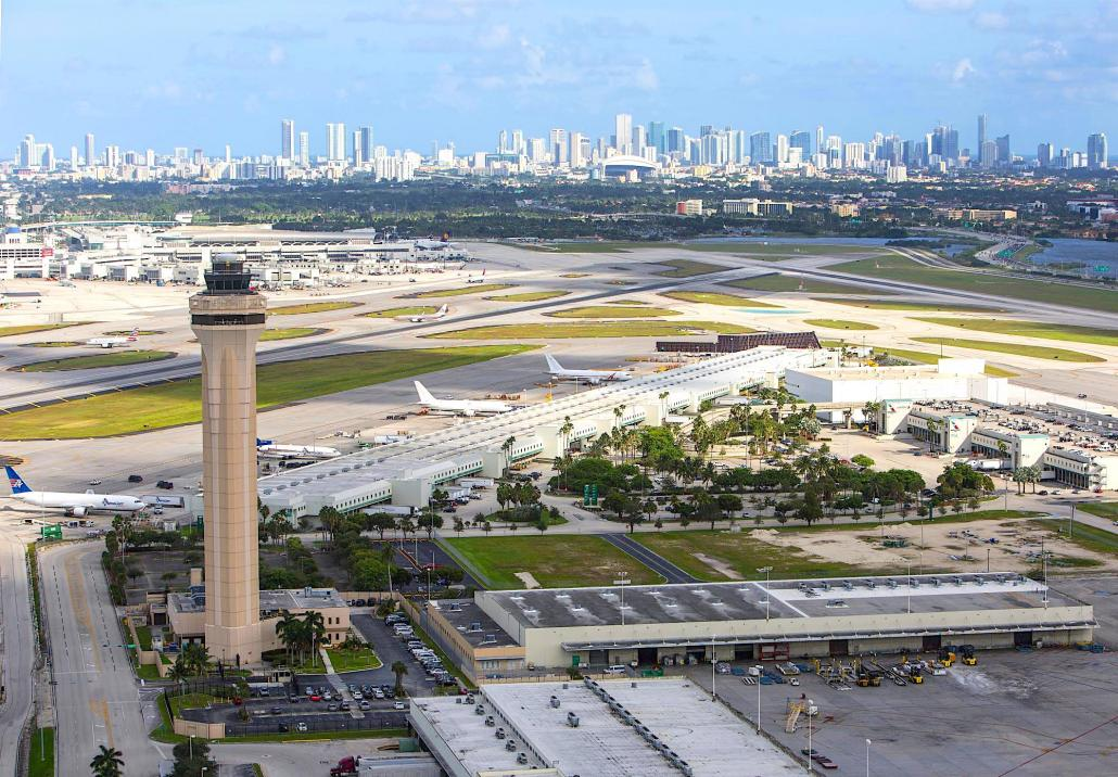Miami sees gradual recovery of services